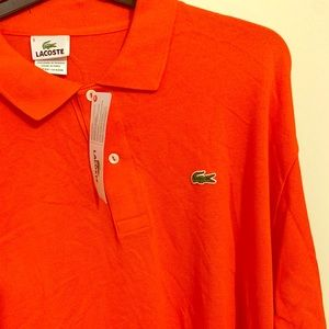 """NEW"" Long Sleeve Lacoste Shirt."